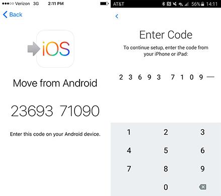 screen with 10 digital code
