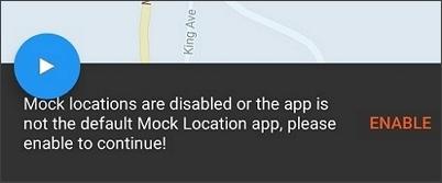 enable mock location