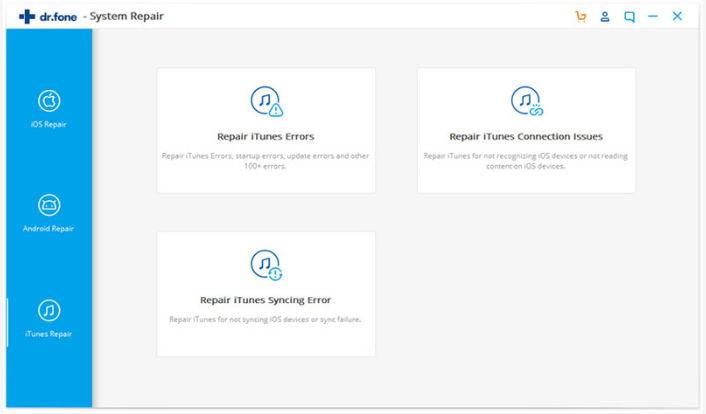 Dr.fone iTunes Repair