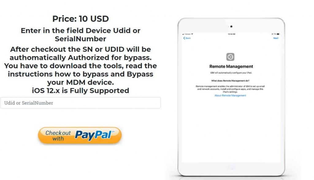Input Device Udid or SerialNumber