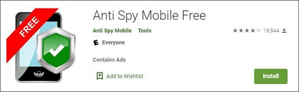 anti spy anti-spyware app for android phone
