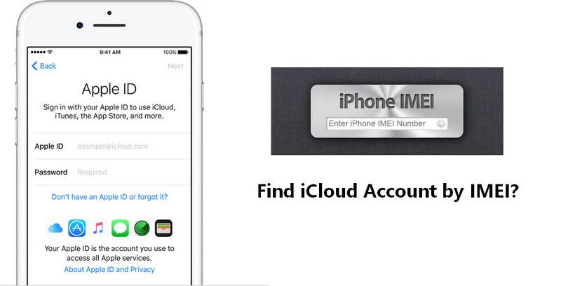 find iCloud account by IMEI