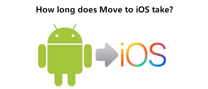 How long does Move to iOS take?