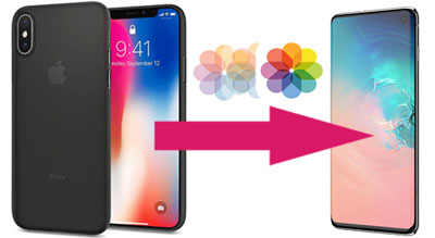 transfer photos from iPhone to Samsung