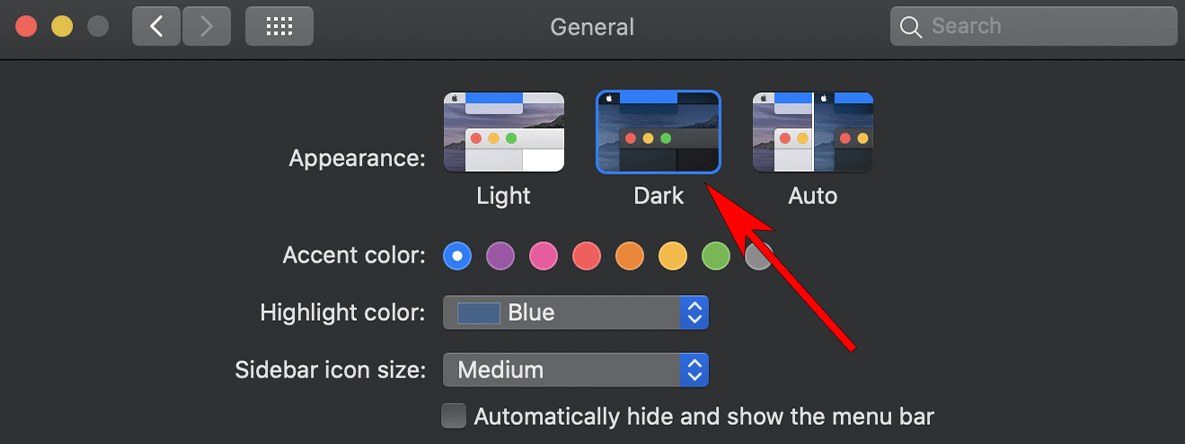 how to use itunes dark mode on mac