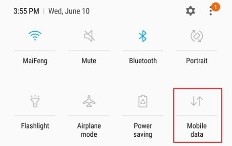 connect to a mobile network