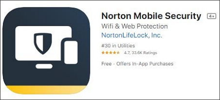 Norton Mobile Security spyware removal apps for iphone