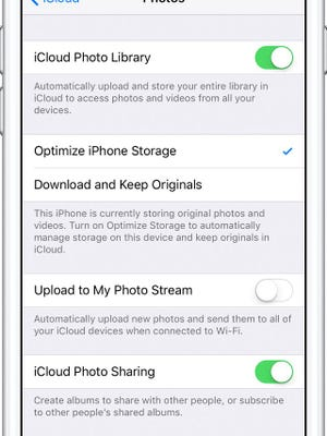 optimize your iphone storage
