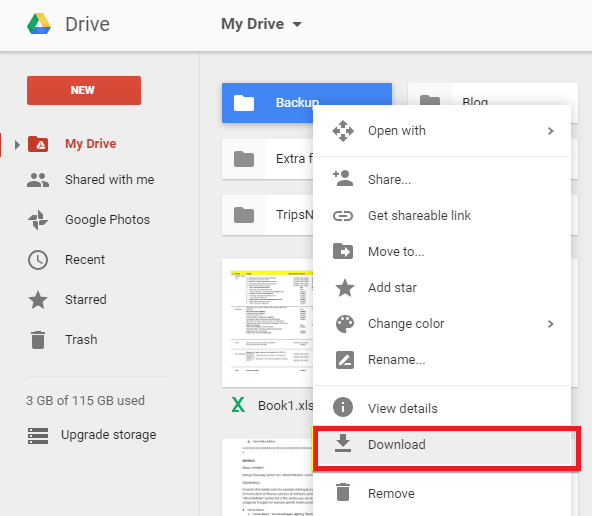 recover lost audio files with google drive