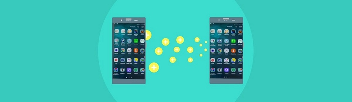 transfer apps from android to android