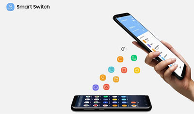 transfer data via Smart Switch