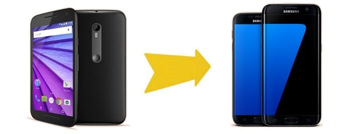 transfer from Motorola to Samsung