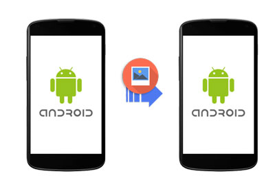 transfer photos from Android to Android