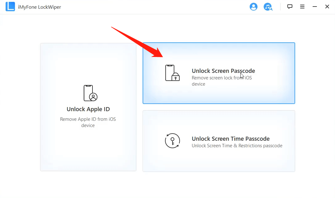 unlock disabled iPhone6 with lockwiper 01