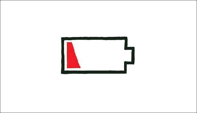 sudden decrease in battery life