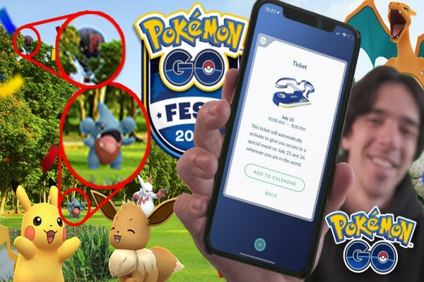 buy Pokemon Go Fest ticket