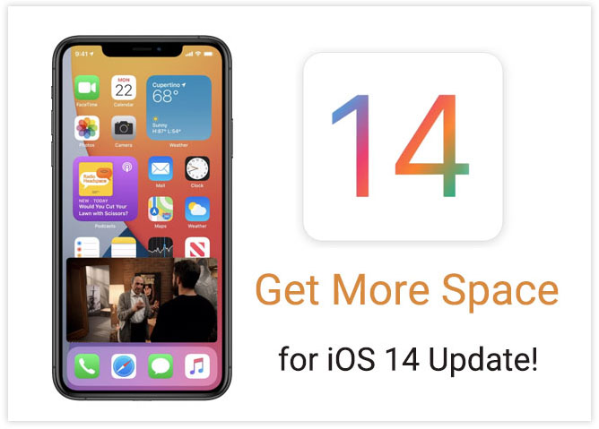get more space for ios 14 update