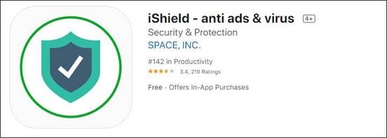 iSheild anti ads & virus