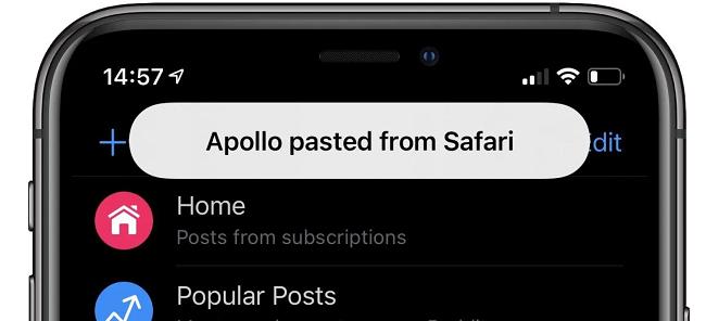 lock screen notification on iphone