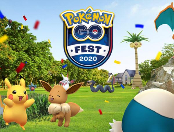 Pokemon Go Fest in 2020