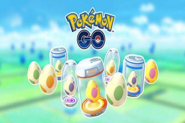 hatch Pokemon Go eggs
