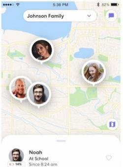 share location on life360