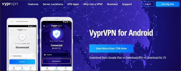 VyprVPN for Android