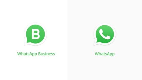 whatsapp and whatsapp business logo