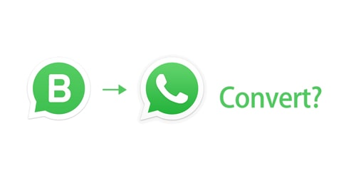 whatsapp business to whatsapp convert for personal use