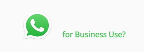 whatsapp for business use