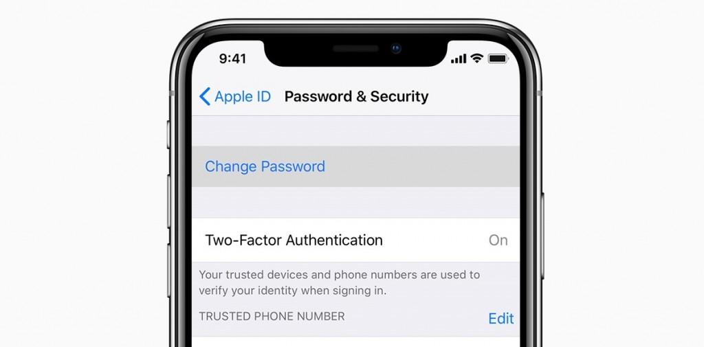 Reset icloud passcode on iPhone
