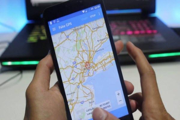 set fake location in fake GPS