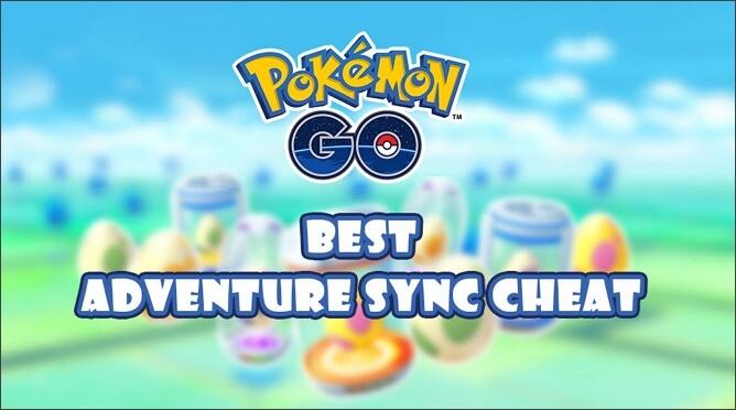 Pokémon GO Adventure Sync Cheat
