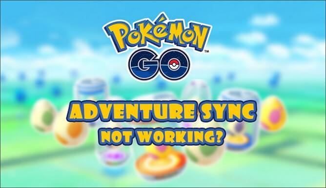 Pokémon GO adventure sync not working