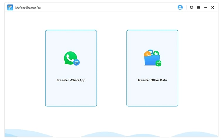 choose to transfer WhatsApp or transfer other data