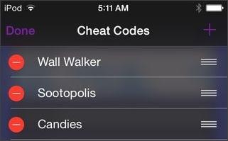 add customized cheat code in GBA Emulator