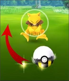 excellent curveball in pokemon go