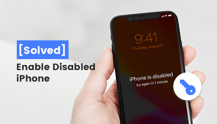 enable disalbed iphone