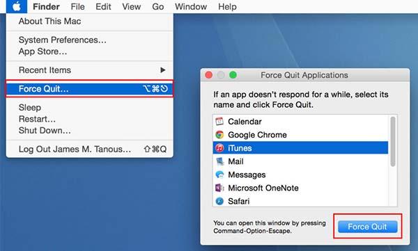 force quit app on mac