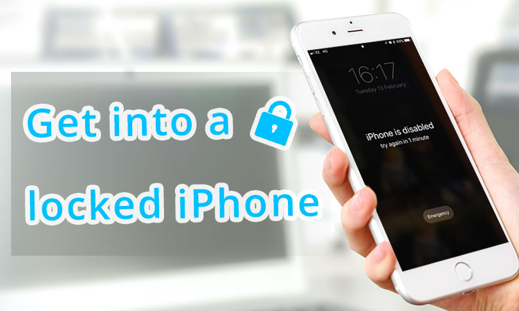 get into locked iphone