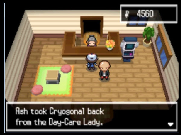 leave pokemon in the daycare