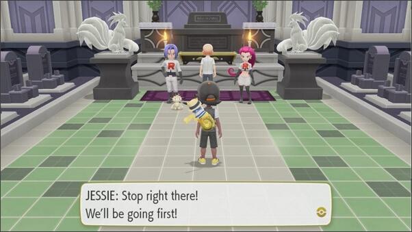 Pokémon: Let's Go Pikachu story mode