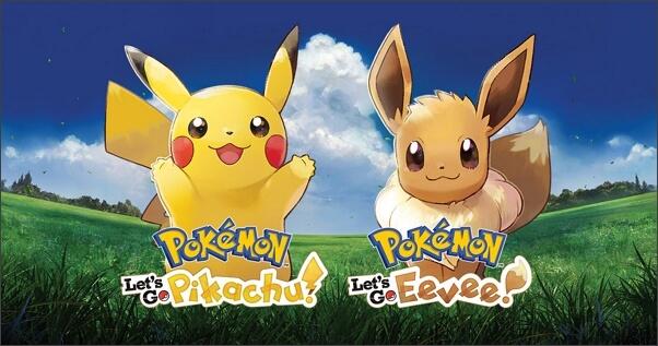 Pokemon Let's Go Pikachu and Pokemon Let's Go Eevee