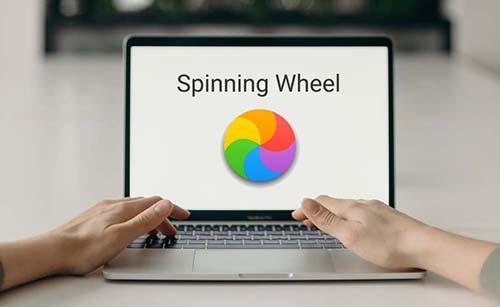 mac spinning wheel