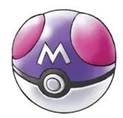 master ball in pokemon emerald