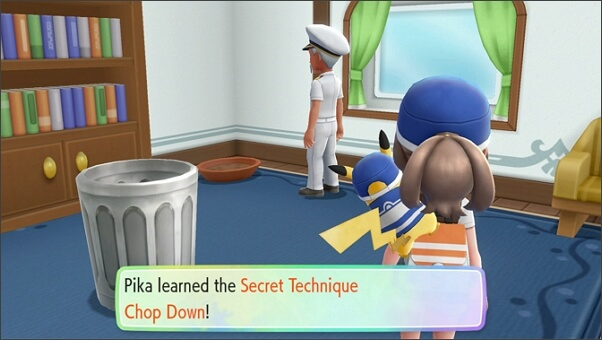 Master secret techniques in Let's Go Pikachu