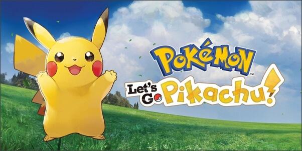 Pokémon Let's Go Pikachu for Nintendo Switch