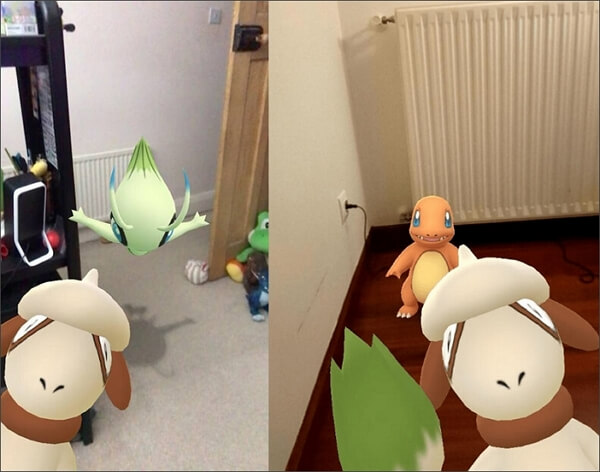 smeargle appears in snapshot