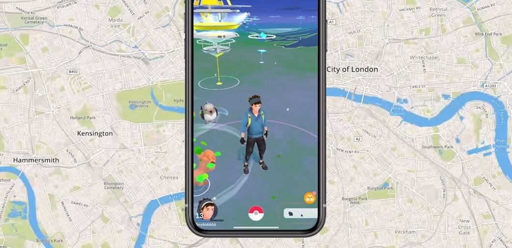 trick gps in pokemon go