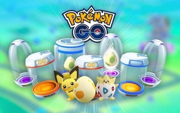 Pokemon GO Incubators
